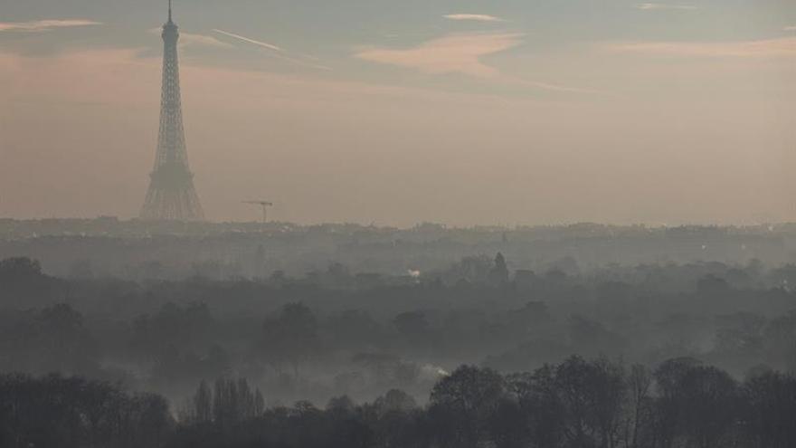 Las restricciones al tráfico en París se levantarán el fin de semana