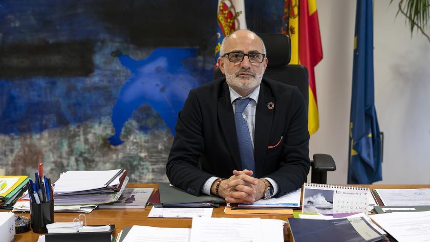 Miguel Rodríguez, consejero de Sanidad de Cantabria. | JOAQUÍ GÓMEZ SASTRE