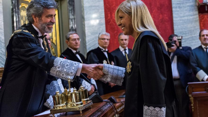La magistrada Susana Polo es la segunda mujer en la historia en formar parte de la Sala de Gobierno del Tribunal Supremo.
