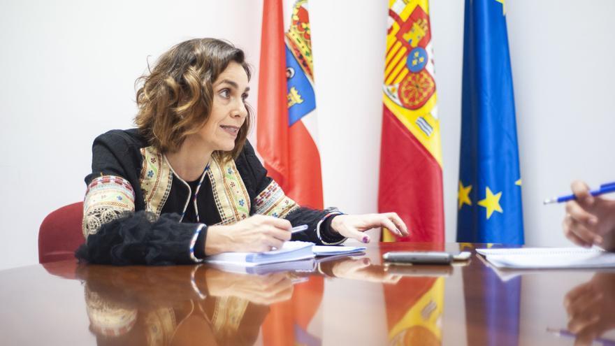 La secretaria de Organización del PRC, Paula Fernández. | BUBY REY