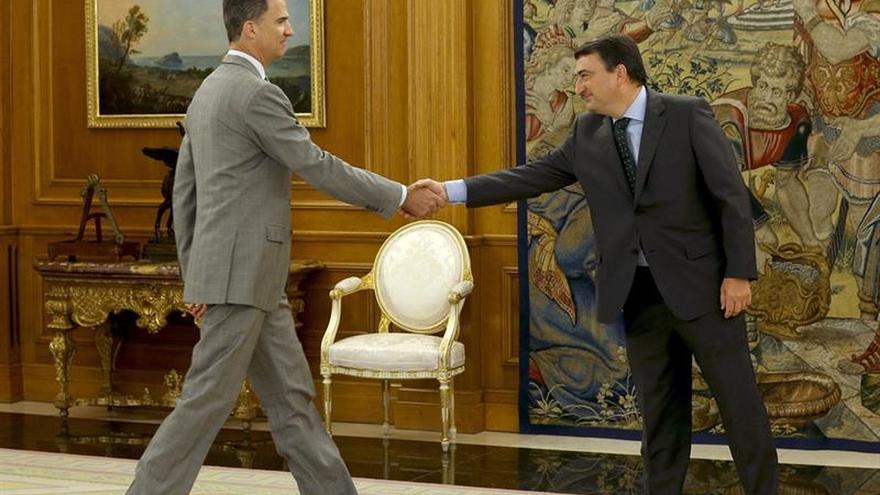 """El PNV insiste en que votará """"no"""" a Rajoy y no descarta unas terceras elecciones"""
