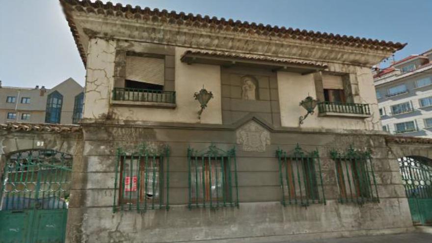 Chalé incautado a Marcial Dorado en Vilagarcía de Arousa