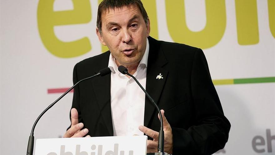 Arnaldo Otegi, elegido coordinador general de EH Bildu con 84 % de los votos