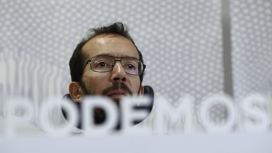 """Echenique dice que las declaraciones de Monedero sobre Leopoldo López son """"opiniones personales"""" y no de Podemos"""