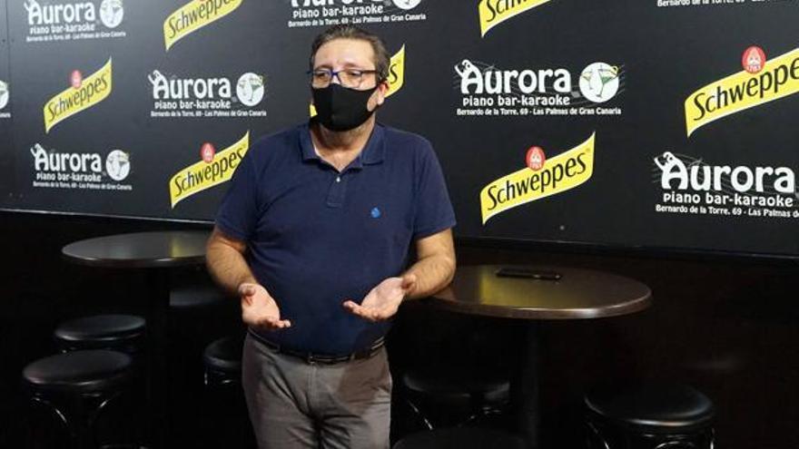 Alejandro Negrín, secretario de la asociación de empresarios del Ocio Nocturno. / ACFI PRESS