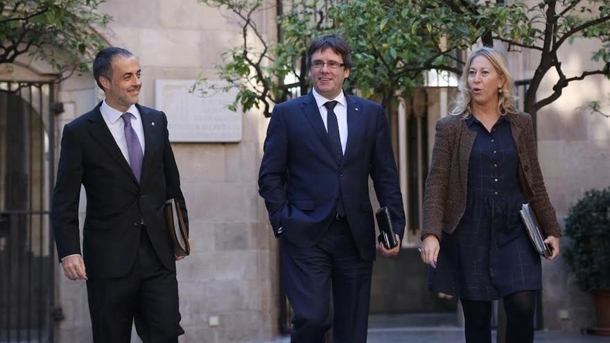Puigdemont viaja este martes a Madrid a un acto de apoyo a Francesc Homs