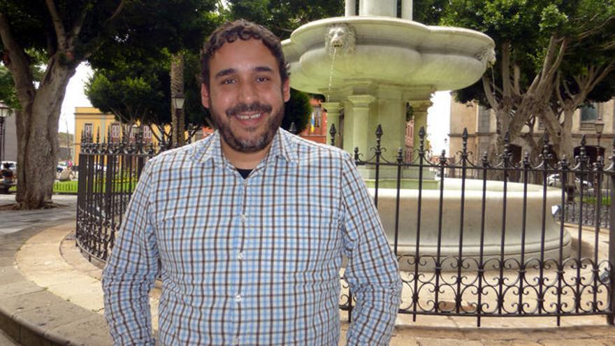 Rubens Ascanio, cabeza de lista de Unidos se Puede en La Laguna.