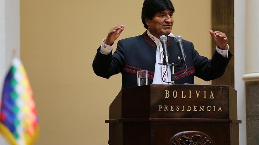 """Morales acusa a Almagro de actuar como lo hacía el """"Plan Cóndor"""" contra los antiimperialistas"""