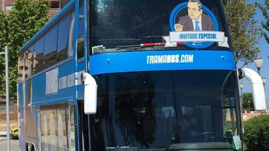 La versión del 'Tramabús' de Podemos en Castilla-La Mancha