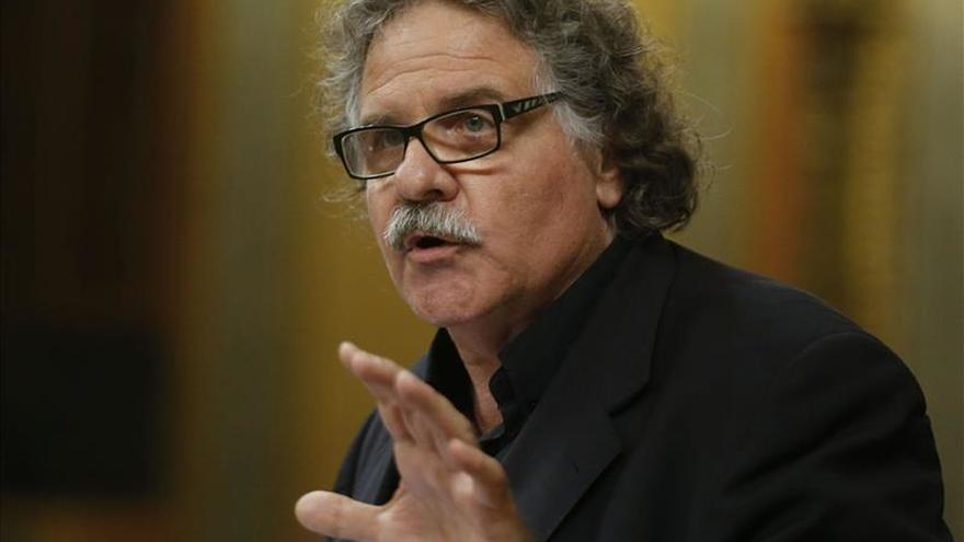 """Joan Tardà (ERC): """"El desacuerdo sería un fraude, un delito de alta traición"""""""