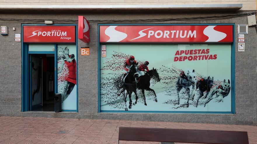 Casa de apuestas Sportium en Arinaga (municipio de Ingenio en Gran Canaria).