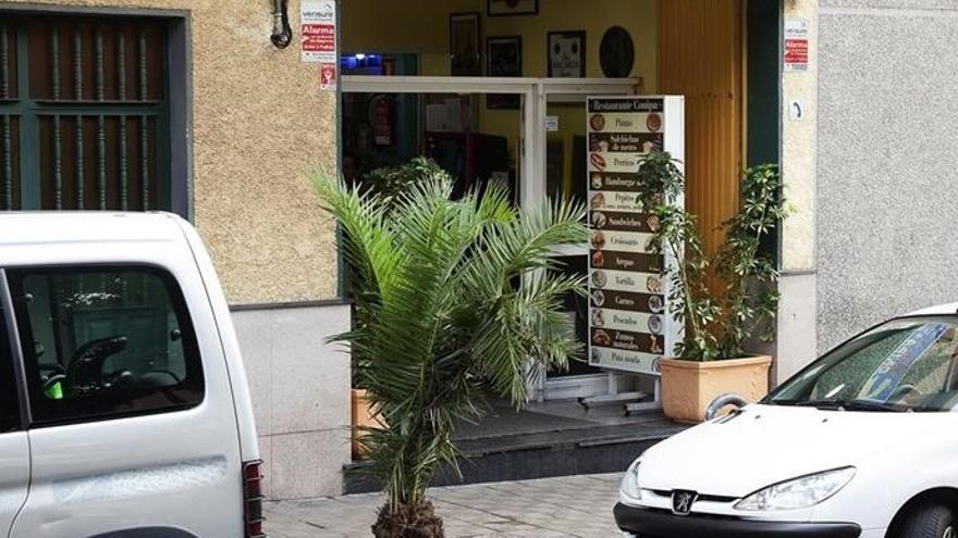 Zona de la Avenida de Los Majuelos donde la mujer fue asesinada el jueves por la noche