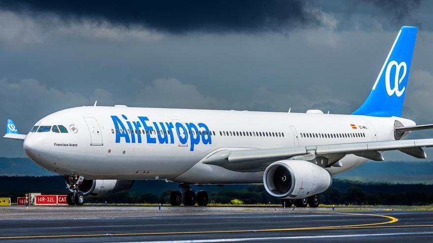 Avión de la compañía Air Europa