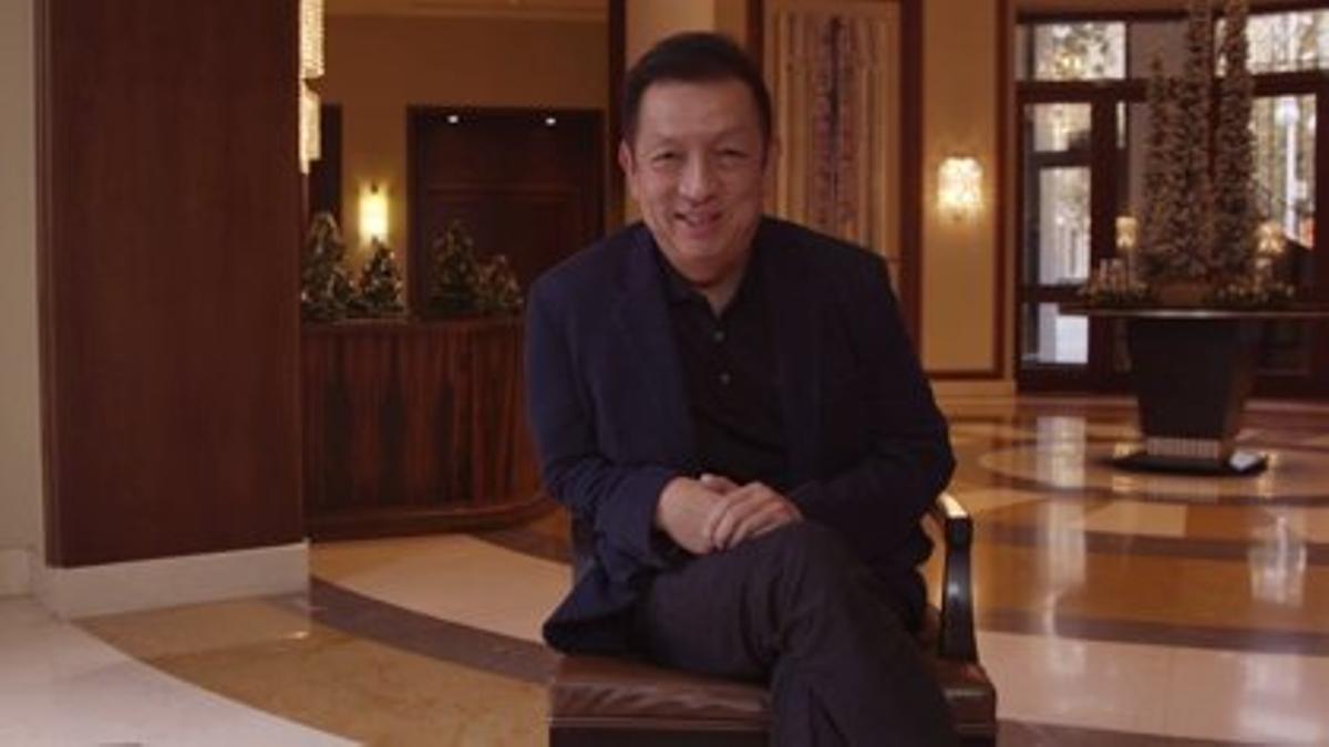 El màxim accionista del València CF, Peter Lim.