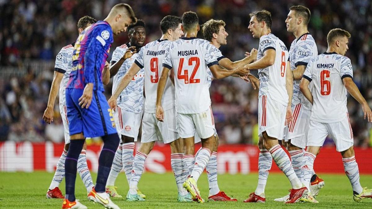 Bayern goleó al Barcelona en el Nou Camp