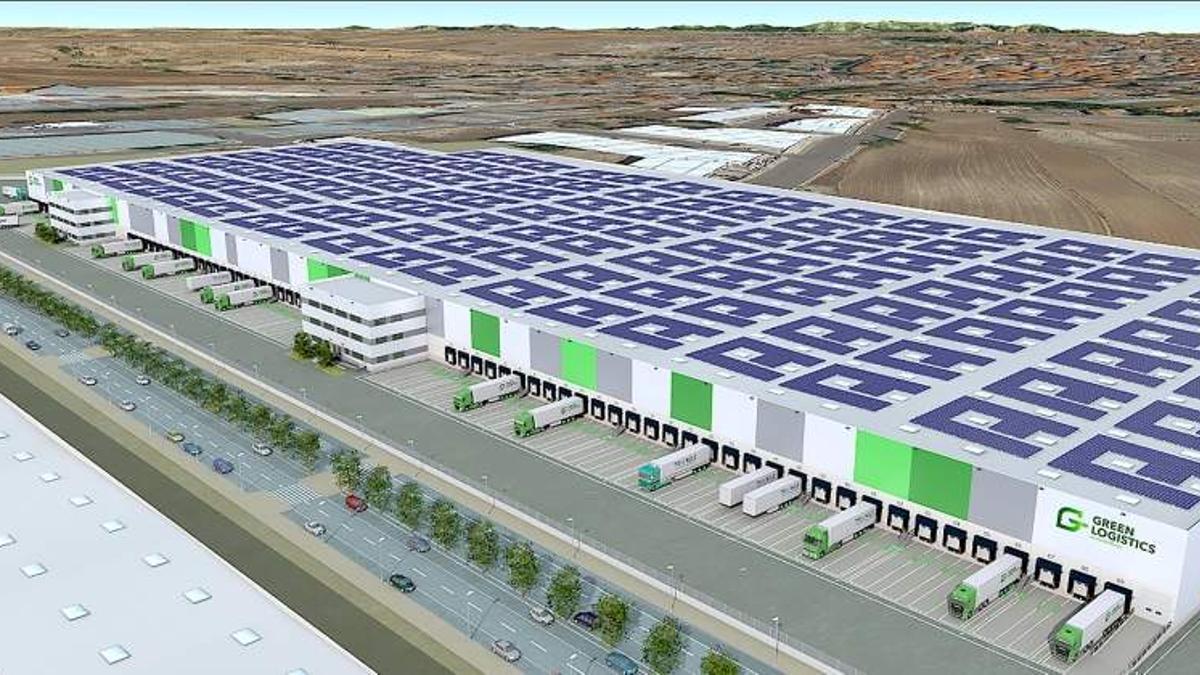 Diseño de Illescas Green Logistics Park / Fotografía: empresa