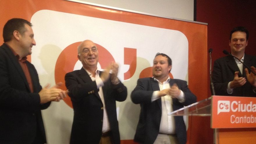 Satisfacción en C's al obtener un diputado en Cantabria con más de 53.000 votos