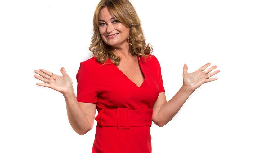 Mónica Marchante, periodista de Movistar Plus.