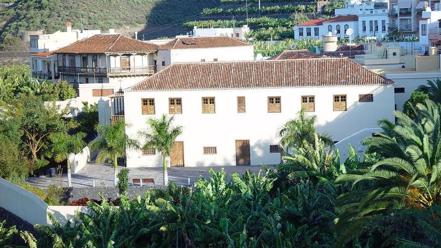 En la imagen, Casa Massieu Monteverde de Tazacorte.