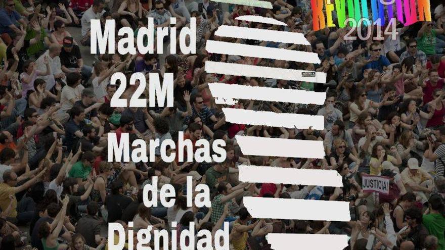 Cartel de las Marchas de la Dignidad que ya se mueve en redes sociales.