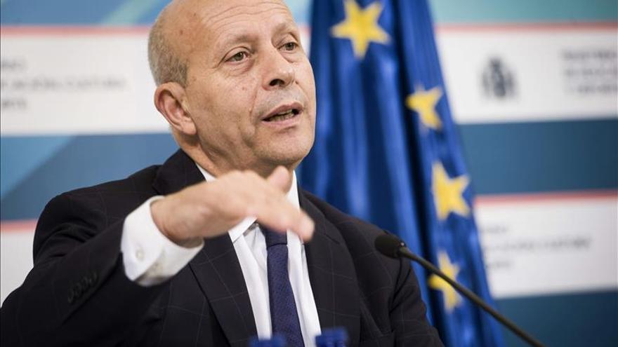 El ministro de Educación, José Ignacio Wert. /EFE
