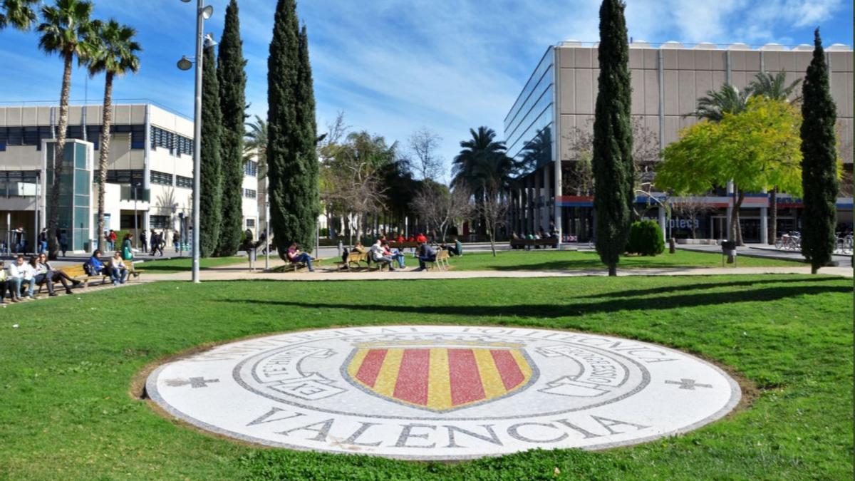 El campus de la Universitat Politècnica de València.