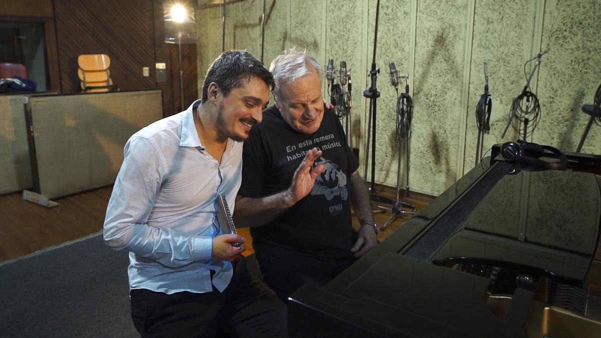 Franco Luciano y José Colángelo