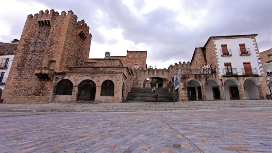 Plaza Mayor de Cáceres / http://turismoextremadura.com/