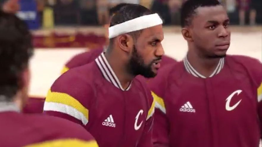 NBA 2K15 Cleveland Cavaliers