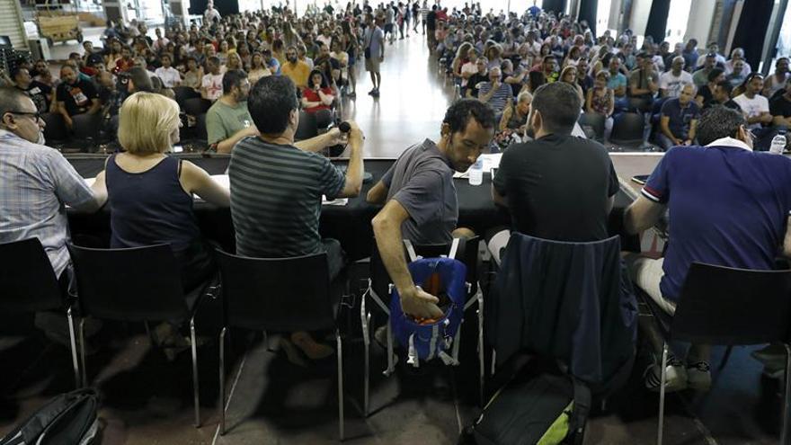 La Asamblea de metro de Barcelona acepta el nuevo convenio y avala poner fin a la huelga
