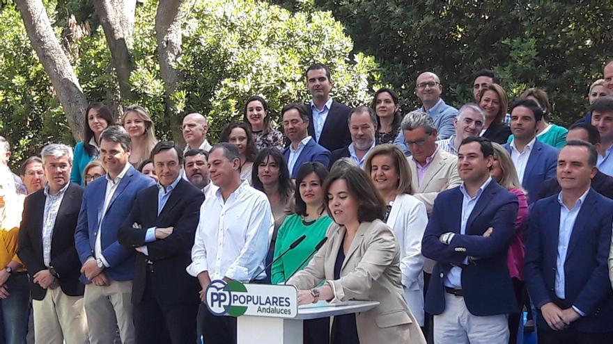 Presentación de las candidaturas del PP en Andalucía para el 26J.