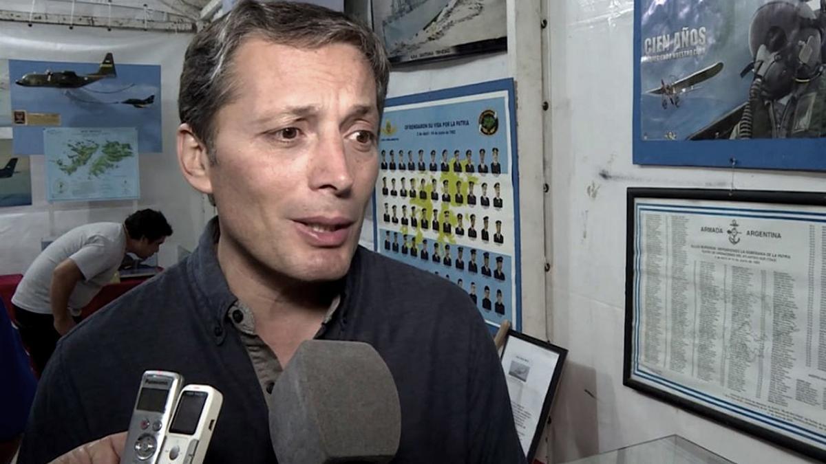Fernando Gray, intendente de Esteban Echeverría.