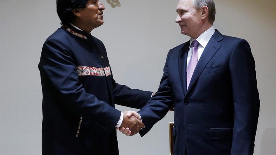 Morales confirma la presencia de Putin en un encuentro sobre el gas en Bolivia