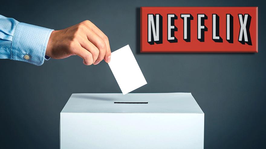 """Netflix y Filmin se apuntan al domingo electoral y animan a votar """"en bucle"""""""