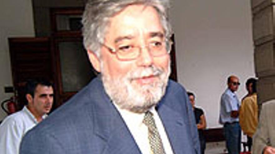 Carmelo Padrón, arquitecto y del PSOE.