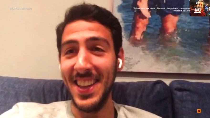 Parejo reapareció en 'La Resistencia' por videollamada