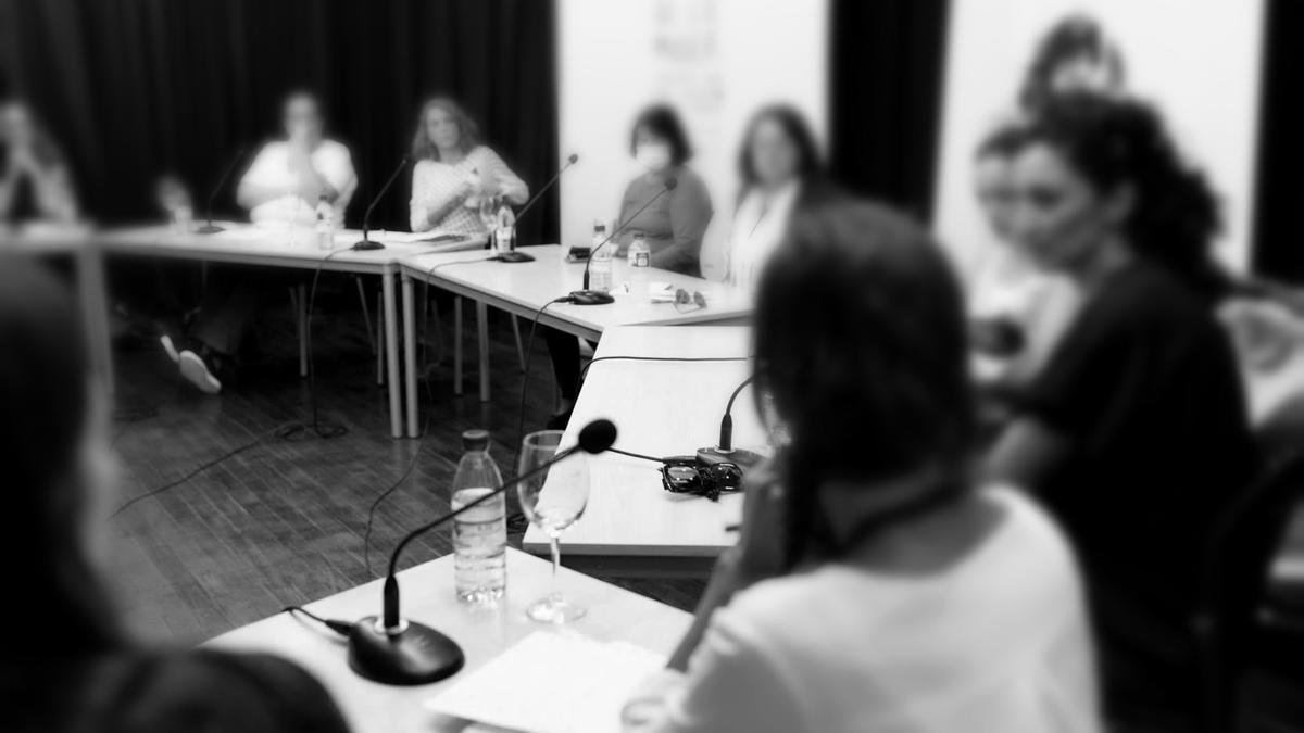 Reunión de la Mesa de la Mujer Rural.