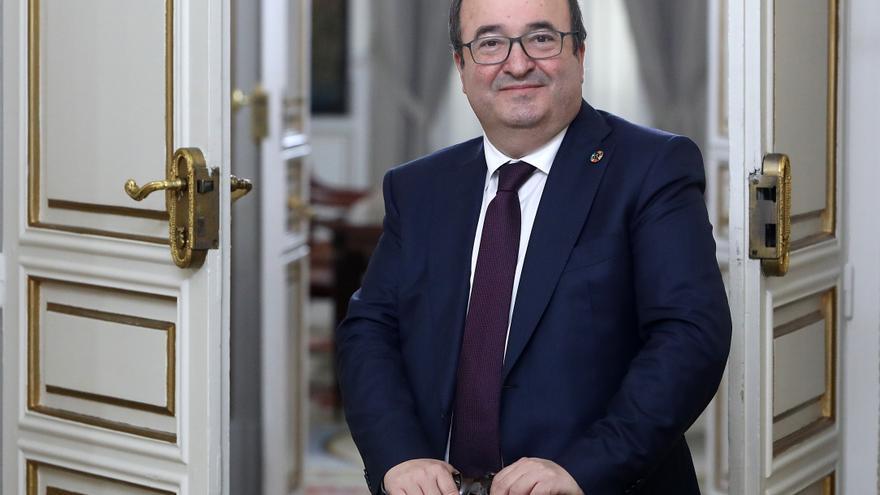 """Miquel Iceta: """"Una victoria de Ayuso puede ser una derrota del proyecto político de Casado"""""""
