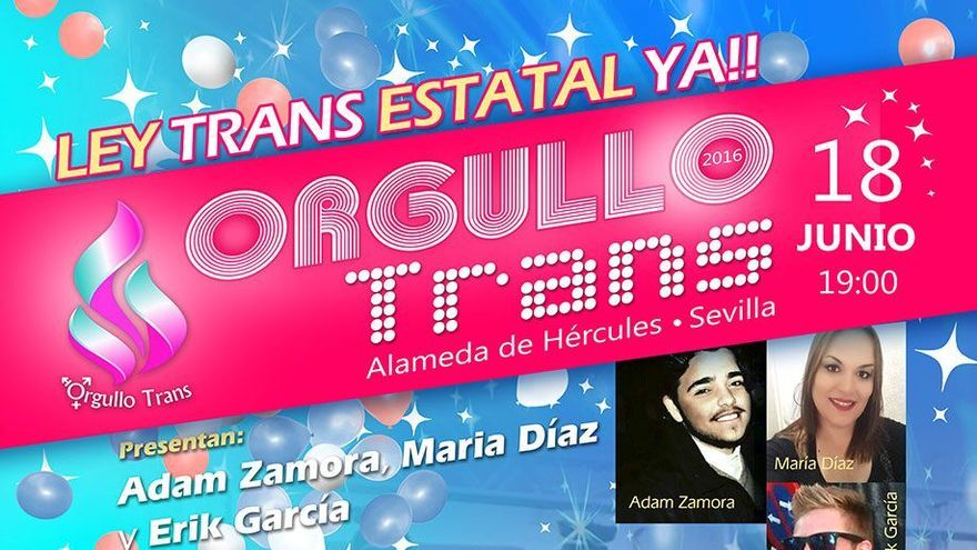 tercera edición del Orgullo Trans