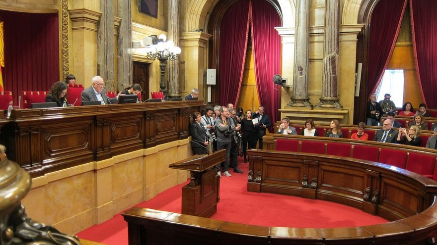 Roger Torrent elegido presidente del Parlament tras imponerse a Espejo-Saavedra (Cs)