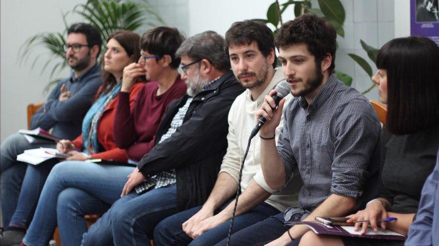 David Torres, Fabiola Meco, Pilar Lima, Jaime Paulino, Antonio Estañ y Sandra Mínguez
