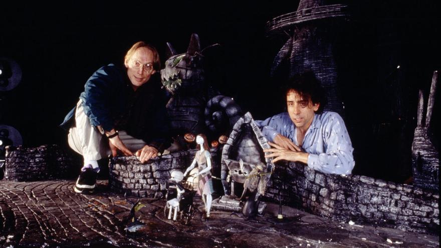 Henry Selick y Tim Burton