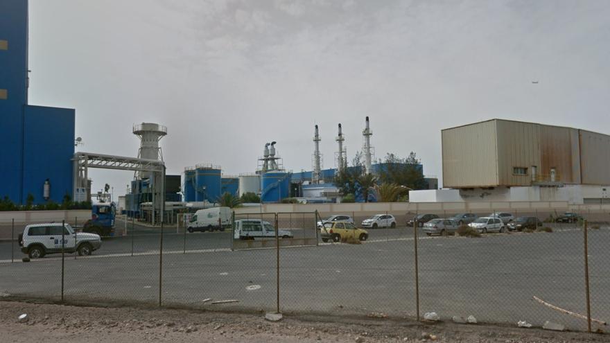 Central térmica Las Salinas, en Fuerteventura