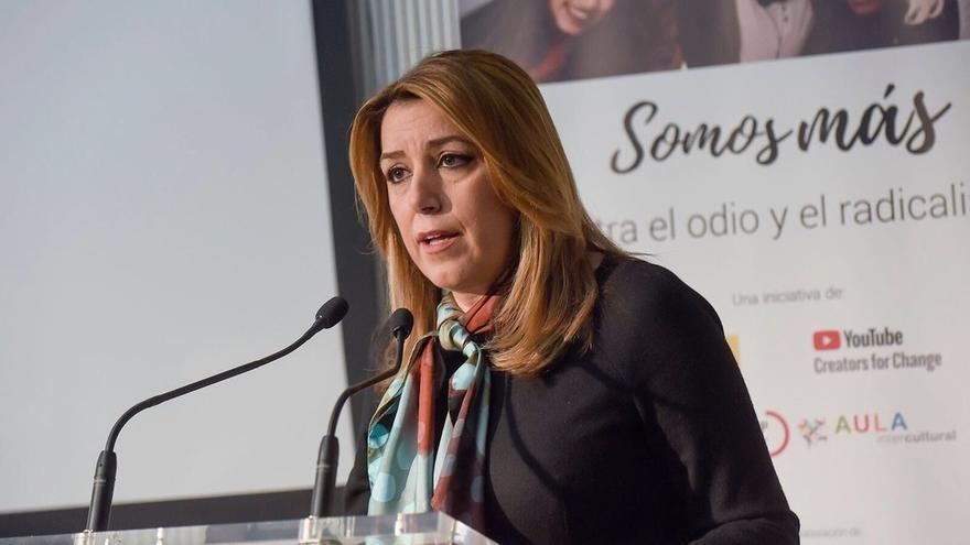 """Susana Díaz avisa de que prorrogar el sistema de financiación """"podría poner en peligro la recuperación económica"""""""
