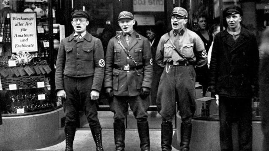 Policías durante el nazismo en Alemania