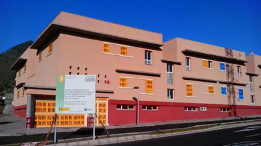 Imagen de archivo de las vivendas de protección oficial (VPO) del barranco de la Cruz de La Paloma, en Los Llanos de Aridane.