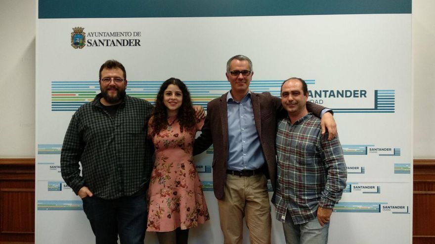 Antonio Mantecón, Lydia Alegría, Miguel Saro y Gabriel Moreno.   R.A.