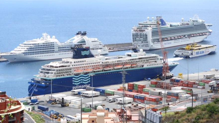 Imagen de archivo del Puerto de Santa Cruz de La Palma