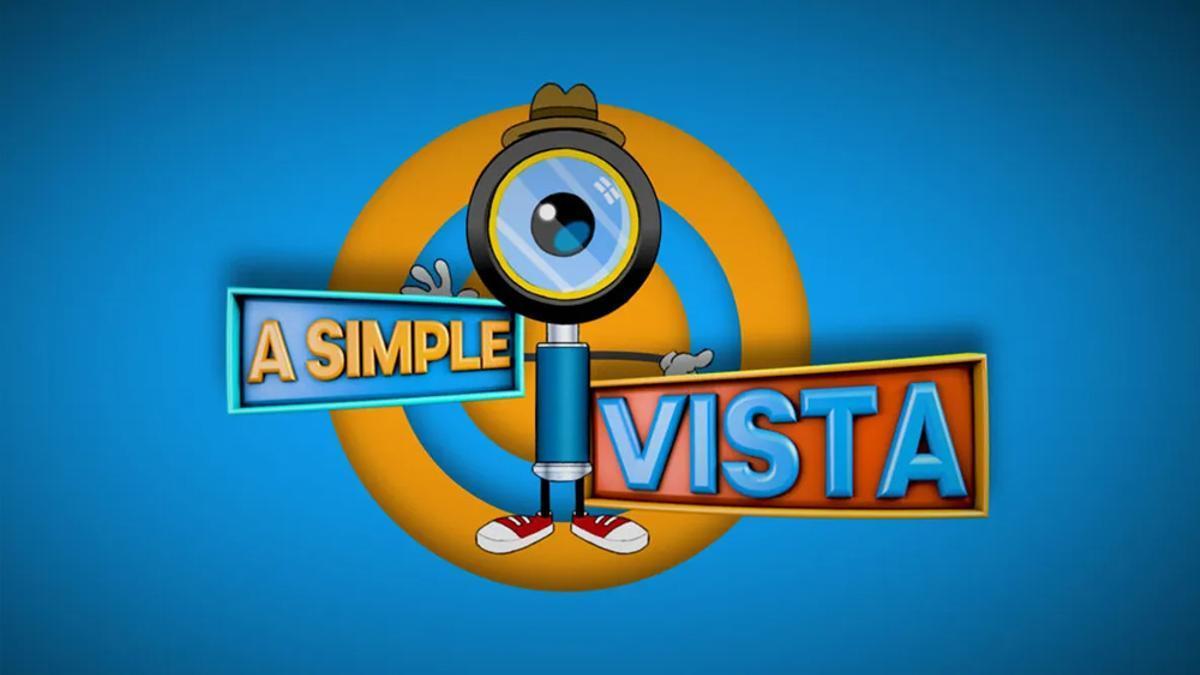 Logotipo de 'A simple vista'