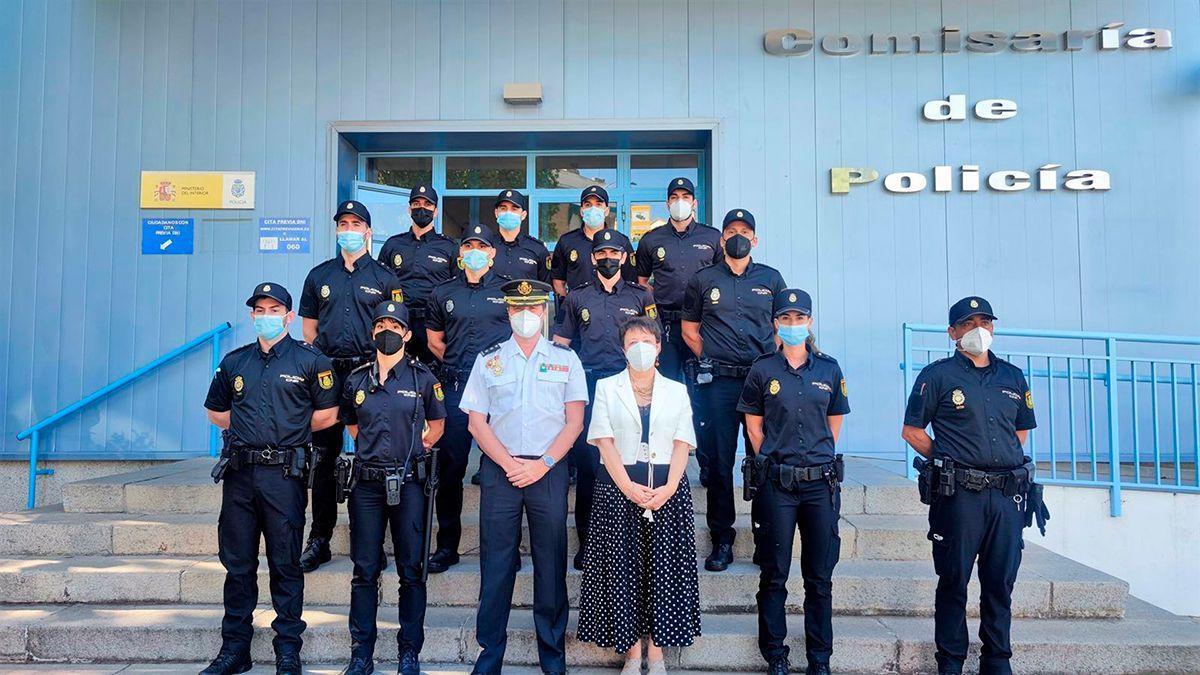 Los nuevos agentes incorporados a la Policía Nacional en Córdoba.